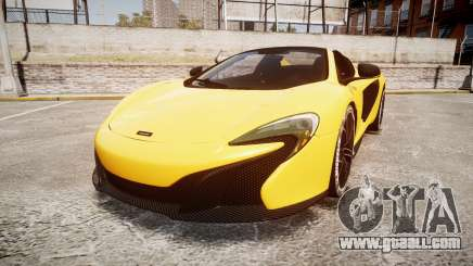 McLaren 650S Spider 2014 [EPM] Michelin v4 for GTA 4