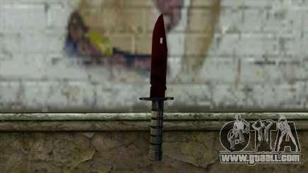 Bayonet M9 for GTA San Andreas