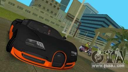 Bugatti Veyron Super Sport for GTA Vice City
