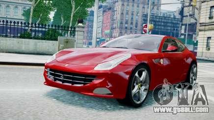 Ferrari FF coupe for GTA 4