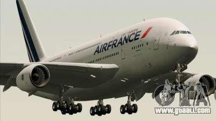 Airbus A380-861 Air France for GTA San Andreas