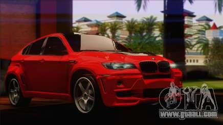 BMW X6M Lumma for GTA San Andreas