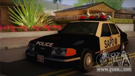 GTA 3 Police Car for GTA San Andreas