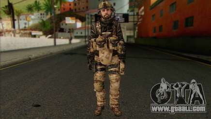 Task Force 141 (CoD: MW 2) Skin 14 for GTA San Andreas