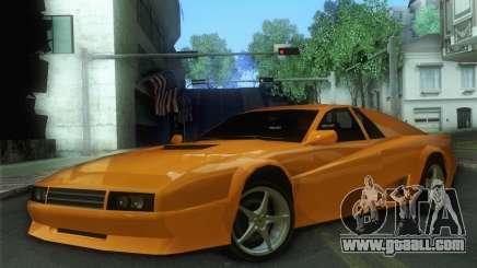 Cheetah Testarossa for GTA San Andreas