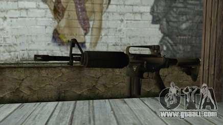 TheCrazyGamer M16A2 for GTA San Andreas