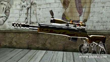Nitro Sniper Rifle for GTA San Andreas