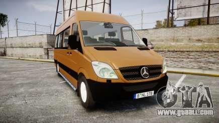 Mercedes-Benz Sprinter 313 cdi for GTA 4