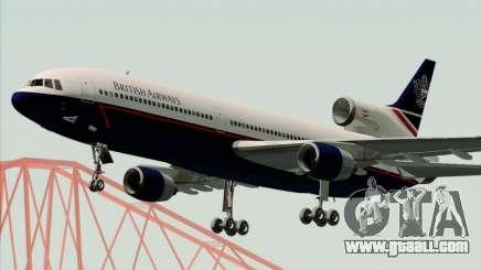 Lockheed L-1011 TriStar British Airways for GTA San Andreas
