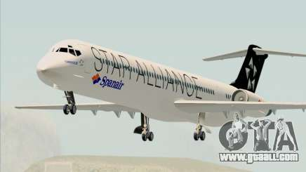 McDonnell Douglas MD-82 Spanair for GTA San Andreas