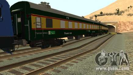 Pakistan Railways Train for GTA San Andreas