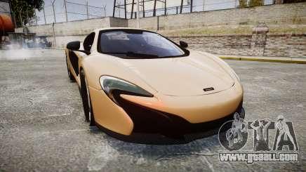 McLaren 650S Spider 2014 [EPM] Pirelli v2 for GTA 4