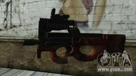 P90 from PointBlank v4 for GTA San Andreas