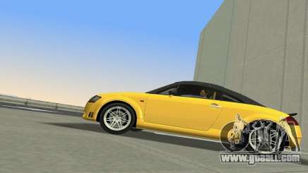 Audi TT Coupe BiMotor Black Revel for GTA Vice City