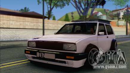Volkswagen Club Mk2 for GTA San Andreas