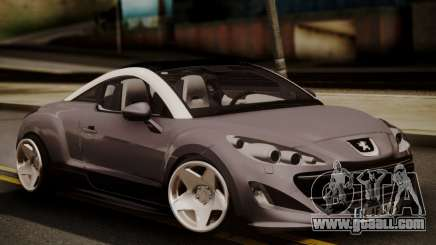 Peugeot RCZ for GTA San Andreas