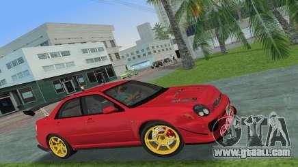 Subaru Impreza WRX 2002 Type 4 for GTA Vice City