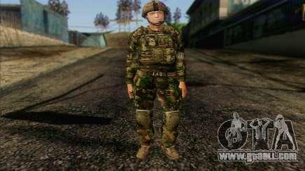 British soldiers (ArmA II: BAF) v1 for GTA San Andreas