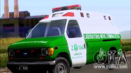 Ford E-150 Labocar for GTA San Andreas