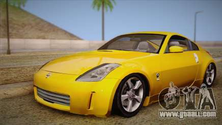 Nissan 350Z Turkey Tuned Drift for GTA San Andreas