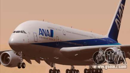 Airbus A380-800 All Nippon Airways (ANA) for GTA San Andreas