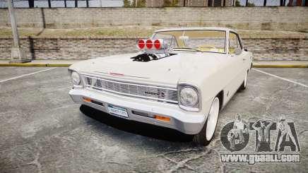 Chevrolet II Nova SS 1966 Custom [EPM] for GTA 4