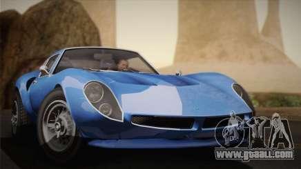 GTA 5 Stinger GT for GTA San Andreas