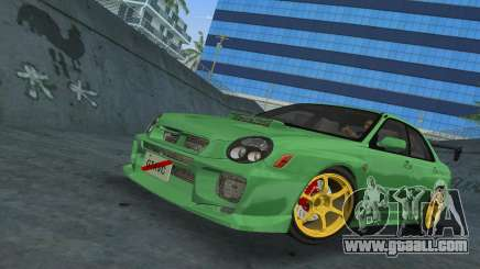 Subaru Impreza WRX 2002 Type 3 for GTA Vice City