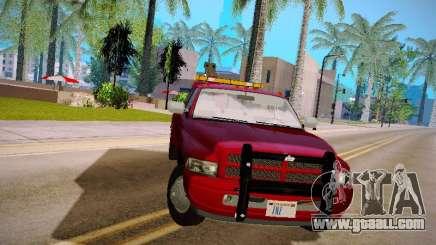 Dodge Ram Tow-Truck for GTA San Andreas