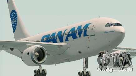 Airbus A310-324 Pan American World Airways for GTA San Andreas