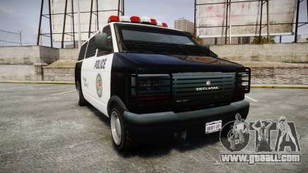Declasse Burrito Police for GTA 4