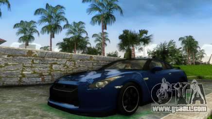 Nissan GT-R SpecV Black Revel for GTA Vice City
