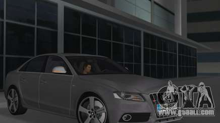 Audi S4 (B8) 2010 - Metallischen for GTA Vice City