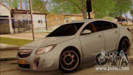 Opel Insignia OPC ATS Cup for GTA San Andreas