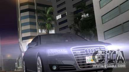 Audi A8 2010 W12 Rim1 for GTA Vice City