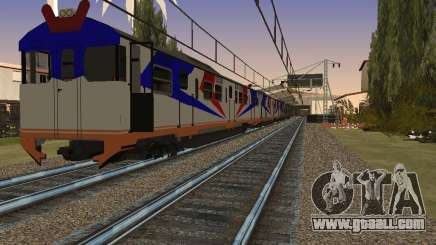 Indonesian diesel train MCW 302 for GTA San Andreas