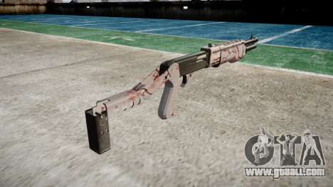Ружьё Franchi SPAS-12 Cherry blossom for GTA 4 second screenshot