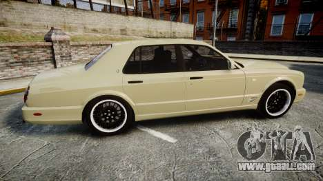 Bentley Arnage T 2005 Rims1 Black for GTA 4 left view