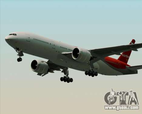 Boeing 777-21BER Nordwind Airlines for GTA San Andreas side view