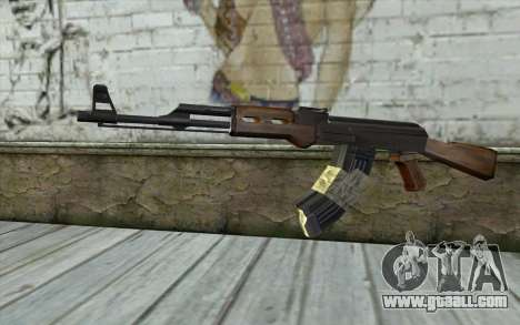 AK47 from Firearms v2 for GTA San Andreas