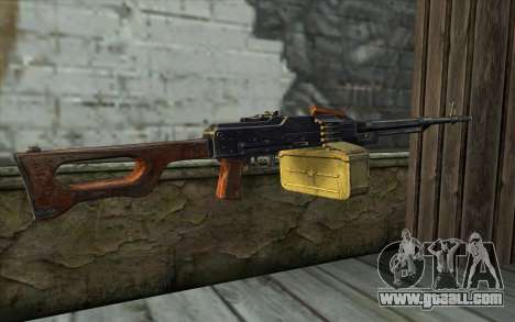 The Machine Gun Kalashnikov Modernized for GTA San Andreas second screenshot