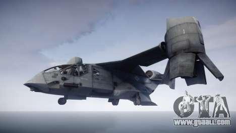 VTOL Warship PJ1 for GTA 4