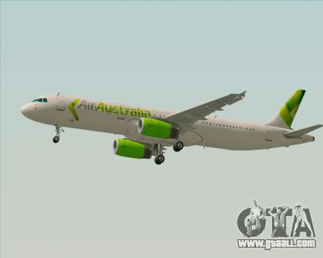 Airbus A321-200 Air Australia for GTA San Andreas back left view