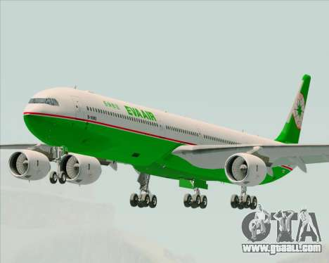 Airbus A340-600 EVA Air for GTA San Andreas
