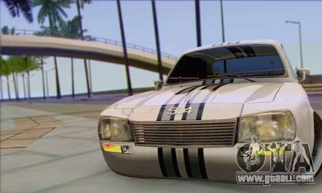 Peugeot 504 Drift Tuning for GTA San Andreas right view