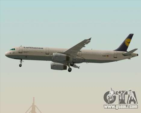 Airbus A321-200 Lufthansa for GTA San Andreas engine