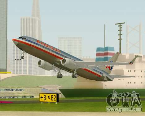 Boeing 737-800 American Airlines for GTA San Andreas