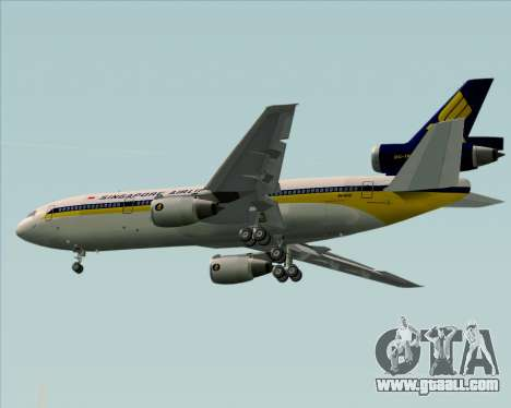 McDonnell Douglas DC-10-30 Singapore Airlines for GTA San Andreas engine