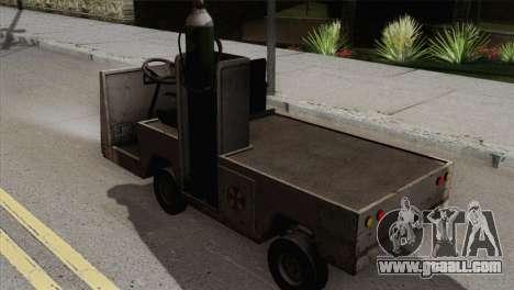 Umbrella Cart for GTA San Andreas left view