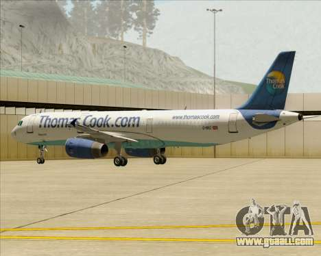 Airbus A321-200 Thomas Cook Airlines for GTA San Andreas engine
